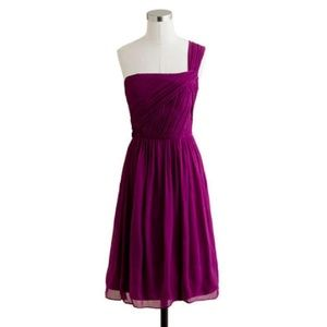 BNWT J. Crew lucienne silk chiffon dress - size 12